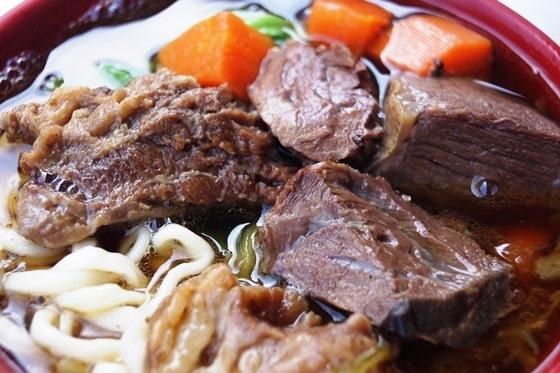 [台南-北區]北園市場無名麵攤-牛肉麵01