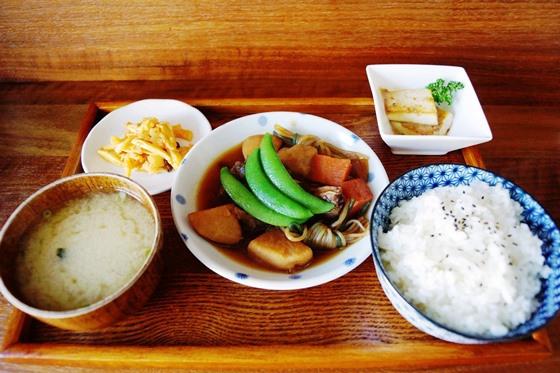 [台南-永康區]日日咖啡-馬鈴薯燉肉定食01