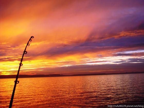 釣魚,很多時候並非為魚。