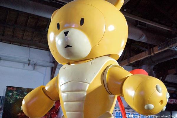 松山文創園區- 鋼彈模型博覽會201511