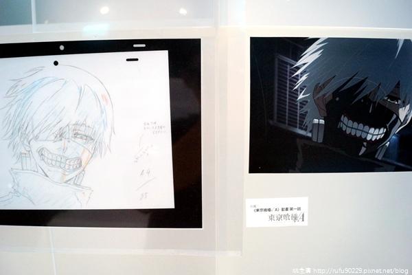 台北.三創園區「動漫基地」+《東京喰種》原畫情境主題展15