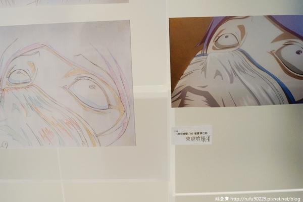 台北.三創園區「動漫基地」+《東京喰種》原畫情境主題展19