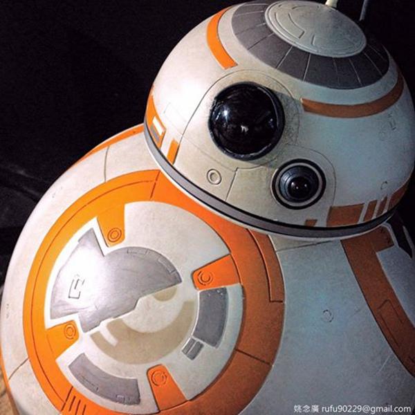 好想帶BB-8回家哦!