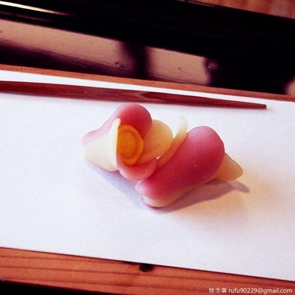 春季賞花趣,只不過,這是和菓子花就是了XD