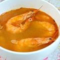 一日之晨,來碗廣媽牌麻油蝦湯,體感溫度立馬提昇。