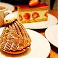到底是誰發明出蒙布朗(Mont Blanc)這個甜點的呢?真是的……感謝你啊!