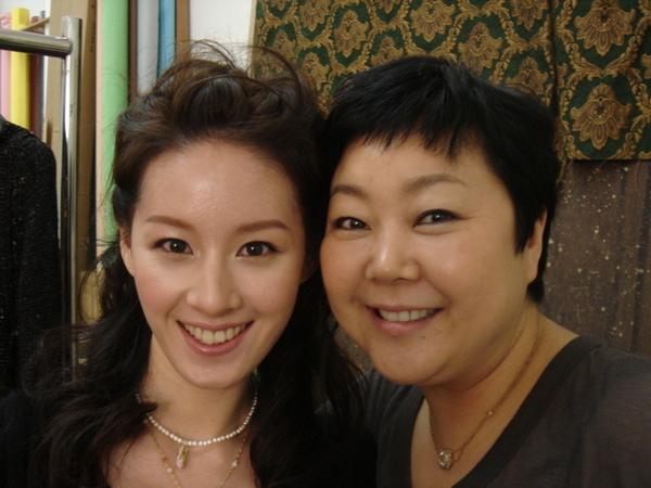 李英愛的化妝師來HK
