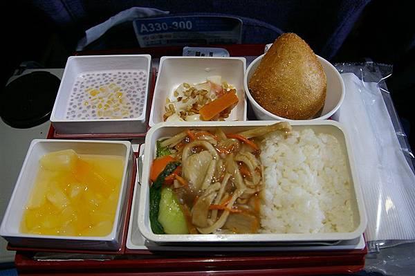 IMGP7651_China Airlines飛機餐