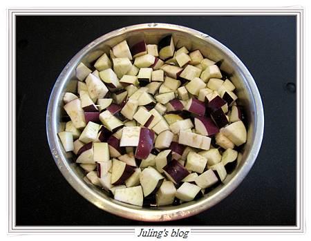 茄子肉醬做法2