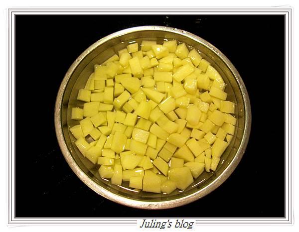 馬鈴薯燜茄子做法1