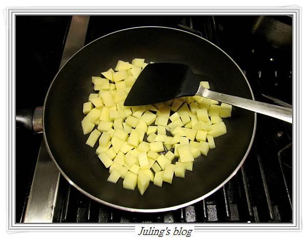 馬鈴薯燜茄子做法2