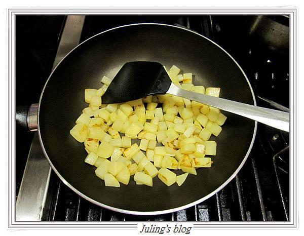 馬鈴薯燜茄子做法3