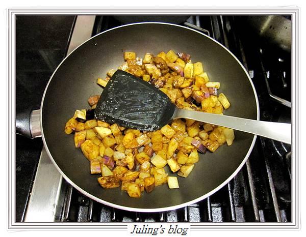 馬鈴薯燜茄子做法7