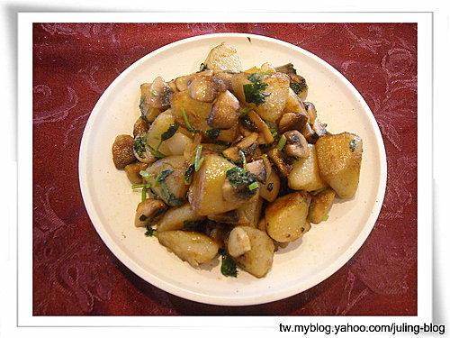 奶油蘑菇洋芋