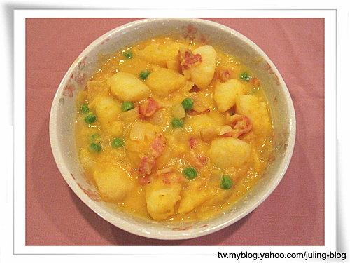 奶香南瓜洋芋煮