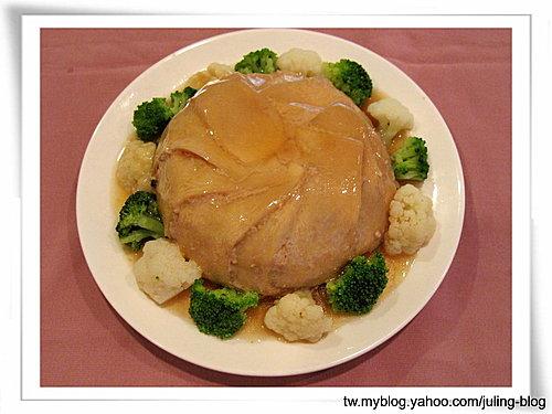 杏鮑菇扣肉