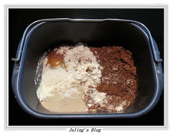 奶油巧克力麵包做法1.JPG