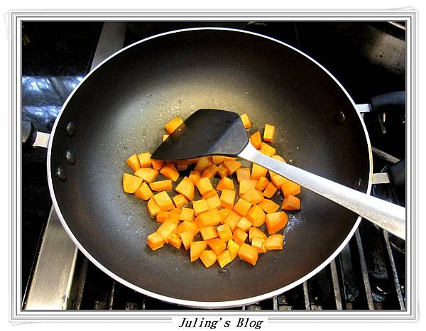 地瓜炒玉米做法2