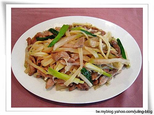 榨菜炒雙絲