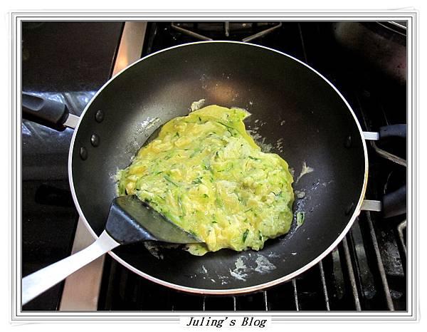白醬櫛瓜煎蛋做法7
