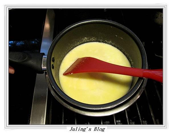 榛果醬乳酪海綿蛋糕做法2