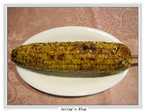 簡易烤玉米