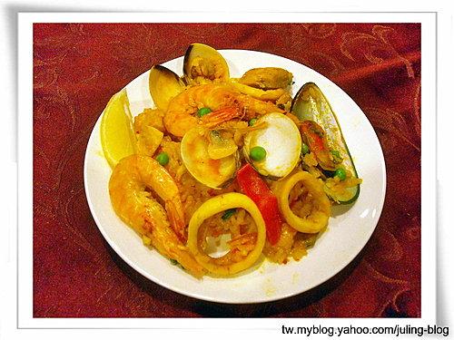 西班牙海鮮飯(paella)