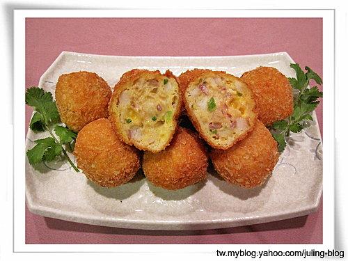 起司蔬菜鮮魚球