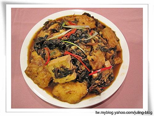 梅菜鯛魚燒