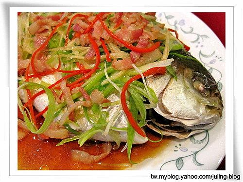 清蒸金鯧魚