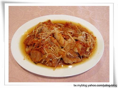 韓式泡菜烤魚片