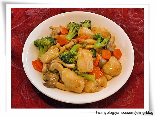 鮮菇魚什錦