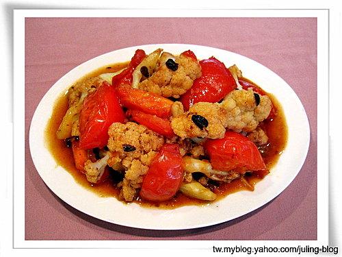蕃茄炒白花椰菜