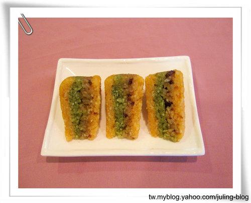 三色糯米糕