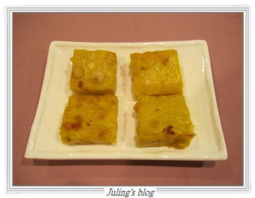 雪蓮黃金糕(素食)