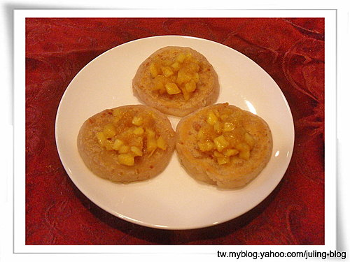 水果芋香煎餅