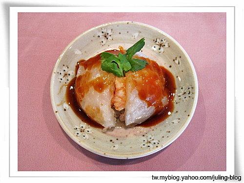 清蒸蝦仁肉圓
