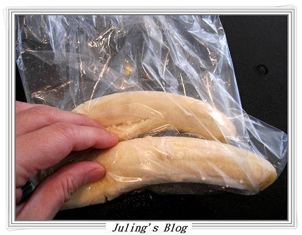 花生醬香蕉蛋糕做法1