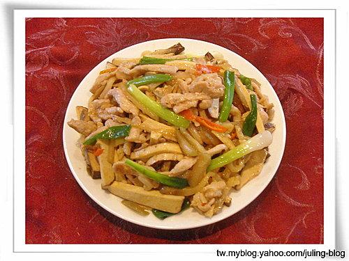 榨菜豆乾肉絲