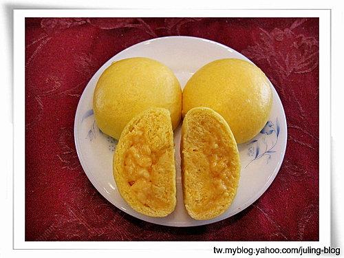 南瓜流沙奶黃