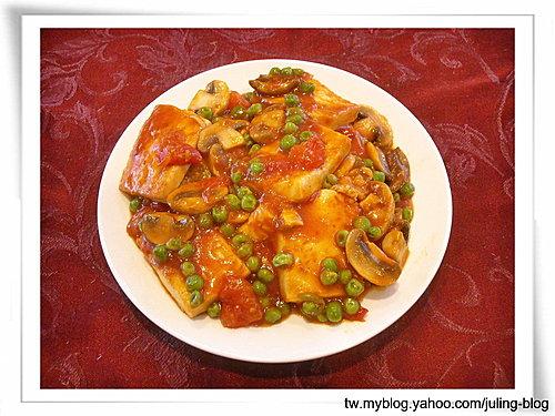紅燴蕃茄豆腐