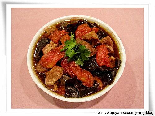黑木耳番茄燉肉