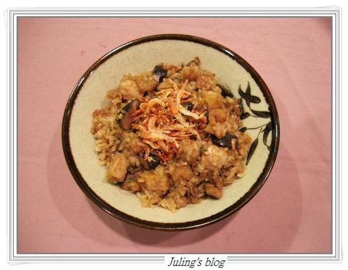 芋香五穀油飯