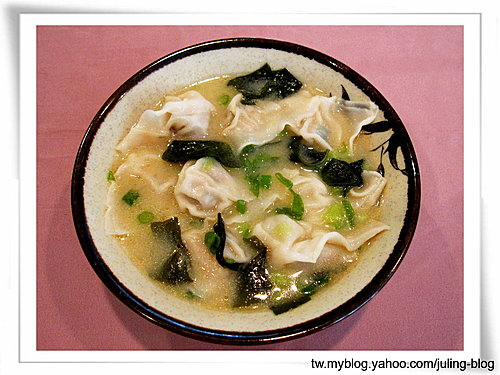 味噌豆腐餛飩湯