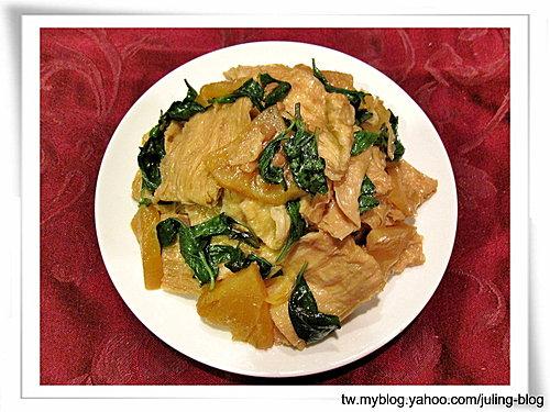 醬鳳梨燒豆皮