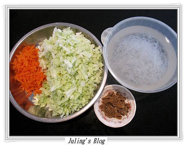 咖哩高麗菜盒子做法1