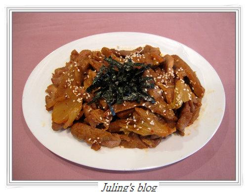 韓式泡菜炒麵腸