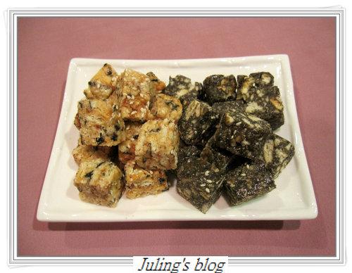 海苔肉鬆棉花糖酥&芝麻棉花糖酥
