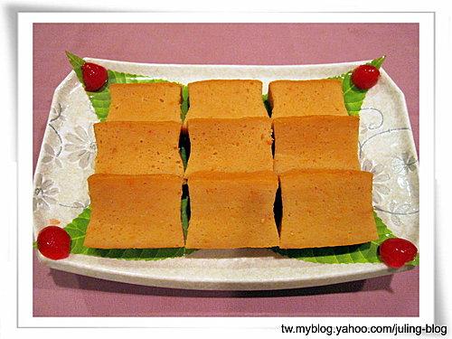 黃金魚漿蛋糕