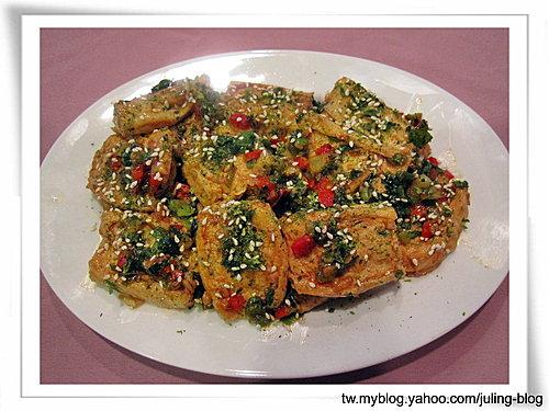 苔香百頁豆腐